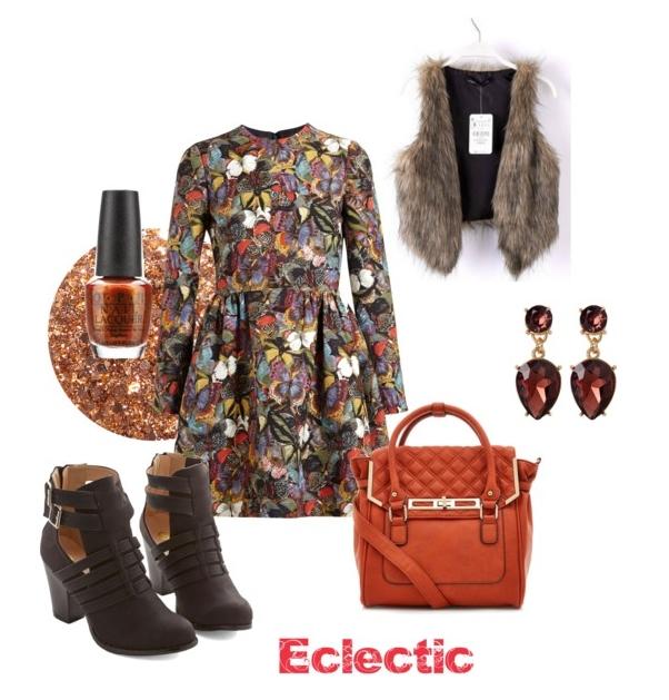 Eclectic look