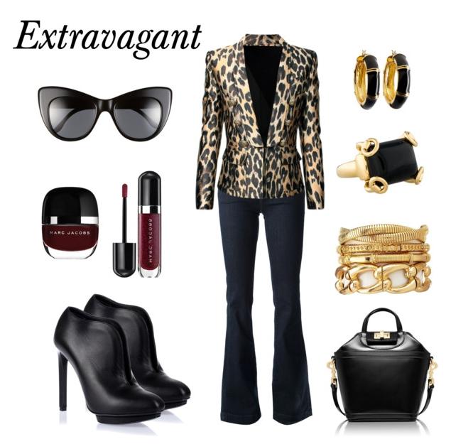 Extravagant look