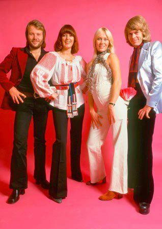 abba wearing romanian blouse