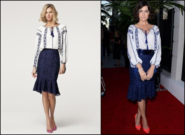 carolina herrera ss2013 romanian blouse