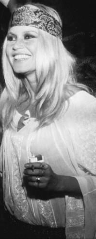 brigitte bardot wearing romanian blouse