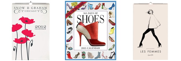 calendar de perete fashion