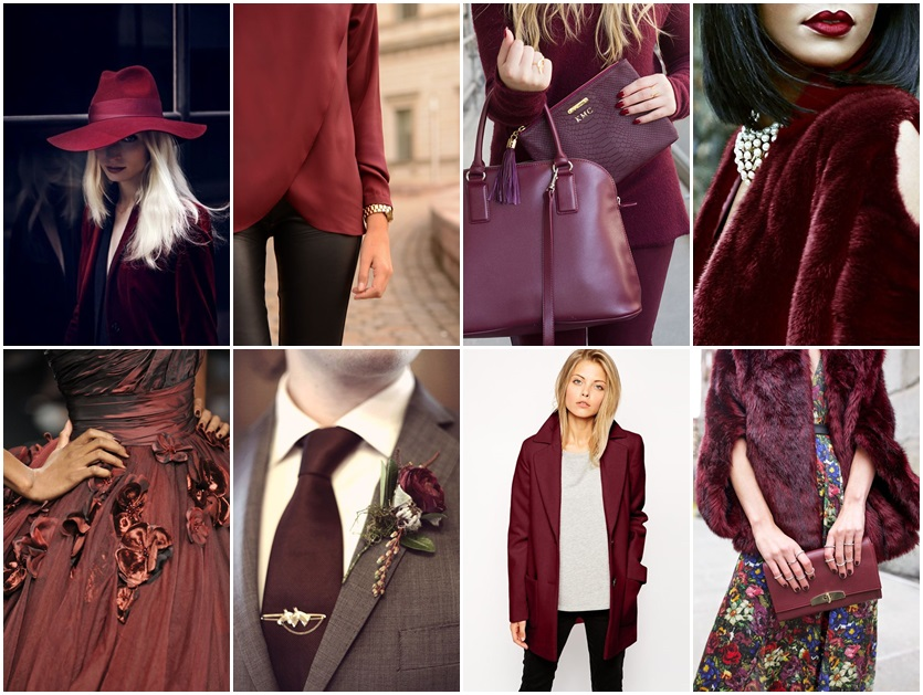marsala fashion outfit