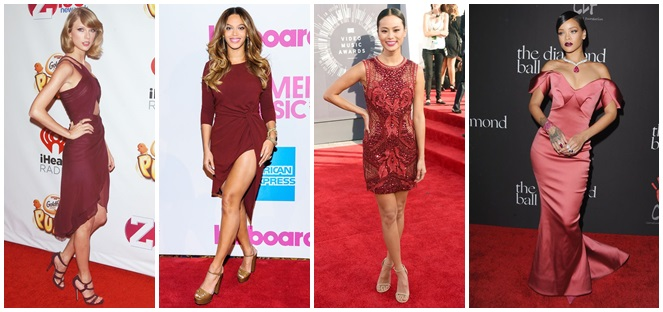 marsala red carpet