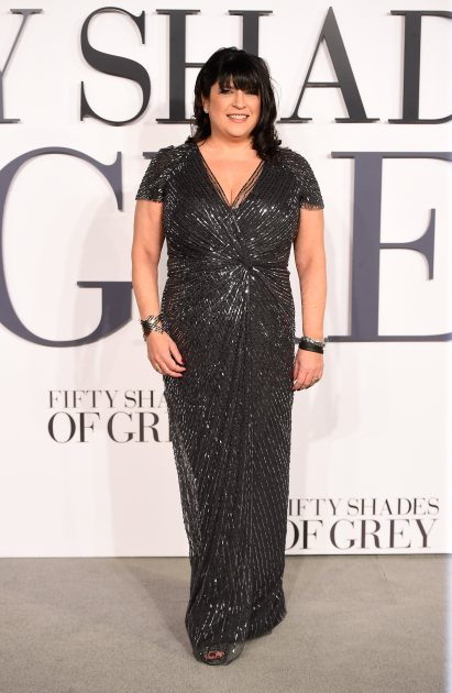 E.L. James fifty shades of grey movie premiere