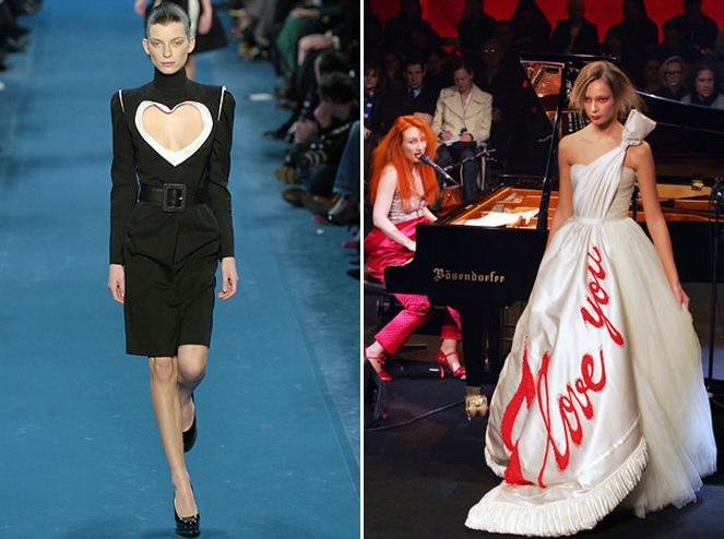 2005 valentine on the catwalk