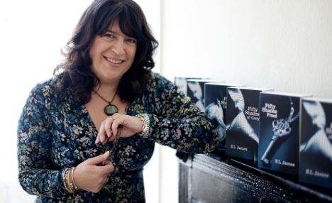 E L James, author of best selling book, 50 Shades of Grey, photo