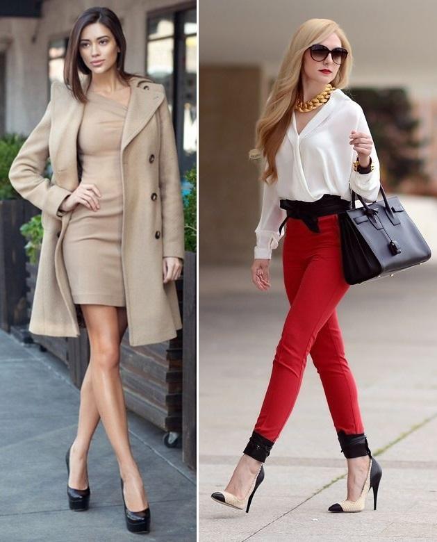 stil vestimentar chic sau la moda