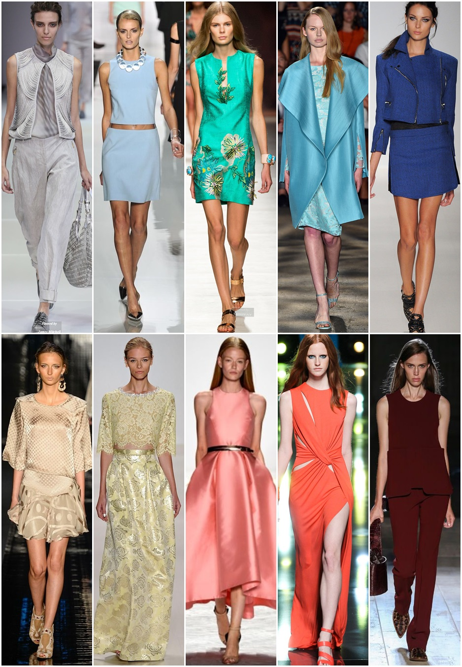 Culori in Trend – Moda Primavara Vara 2015