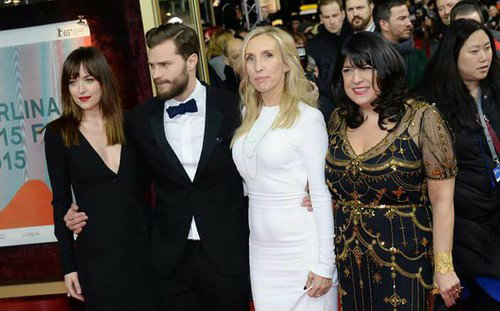 cast fifty shades of grey world premiere
