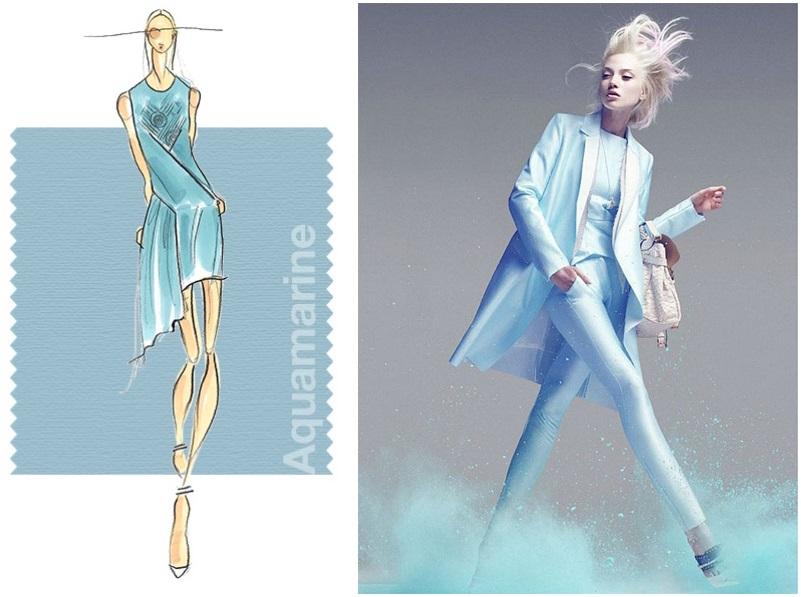 aquamarine spring summer 2015 color trend