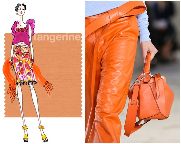 tangerine culori trend primavara vara 2015