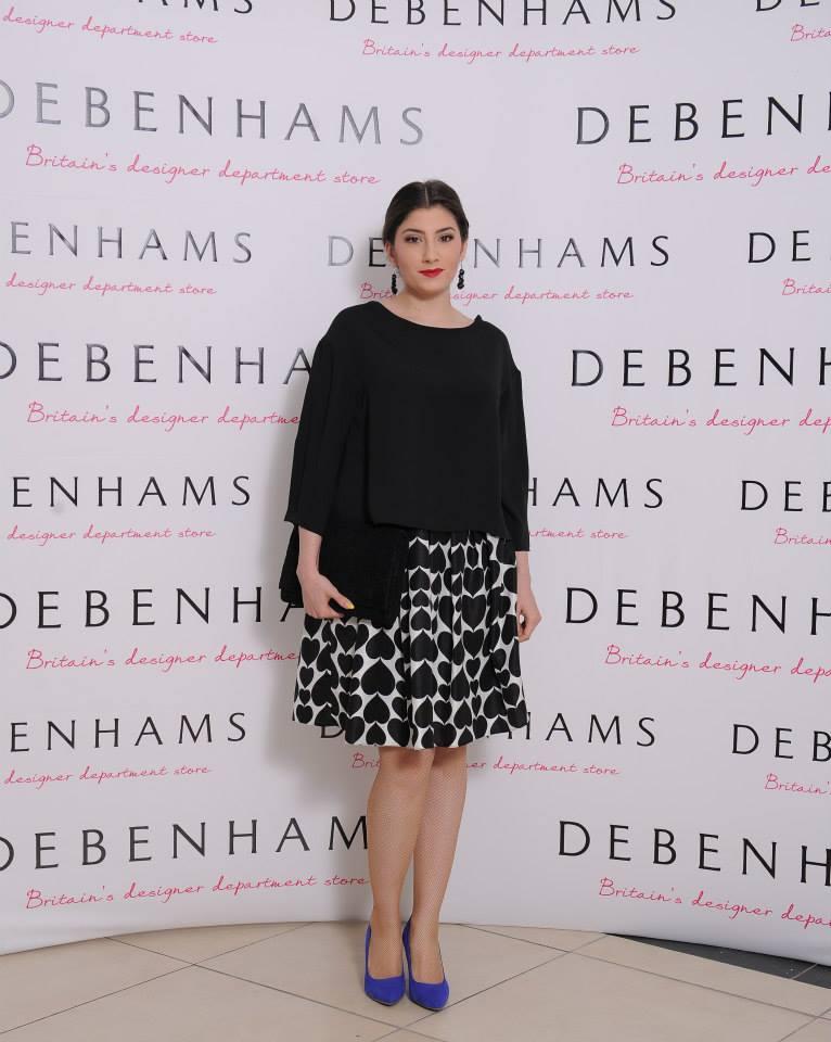 Lansare Debenhams - Mariana Romanica