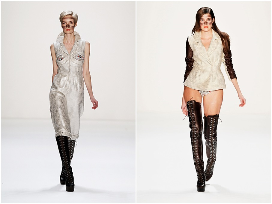 Stephan Pelger Show - Mercedes-Benz Fashion Week Autumn/Winter 2013/14