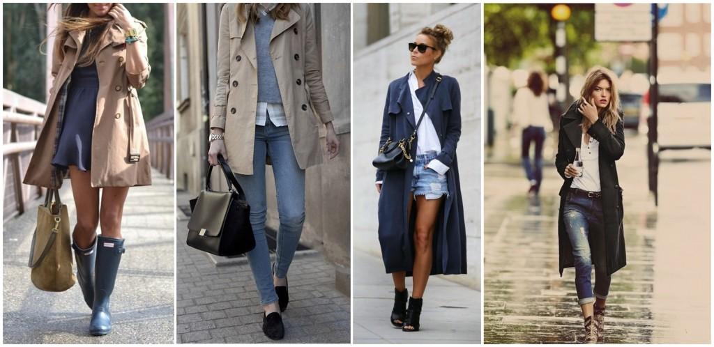 trench stil casual