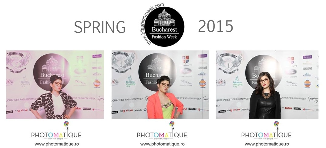 Un fashion stylist la Bucharest Fashion Week Spring 2015