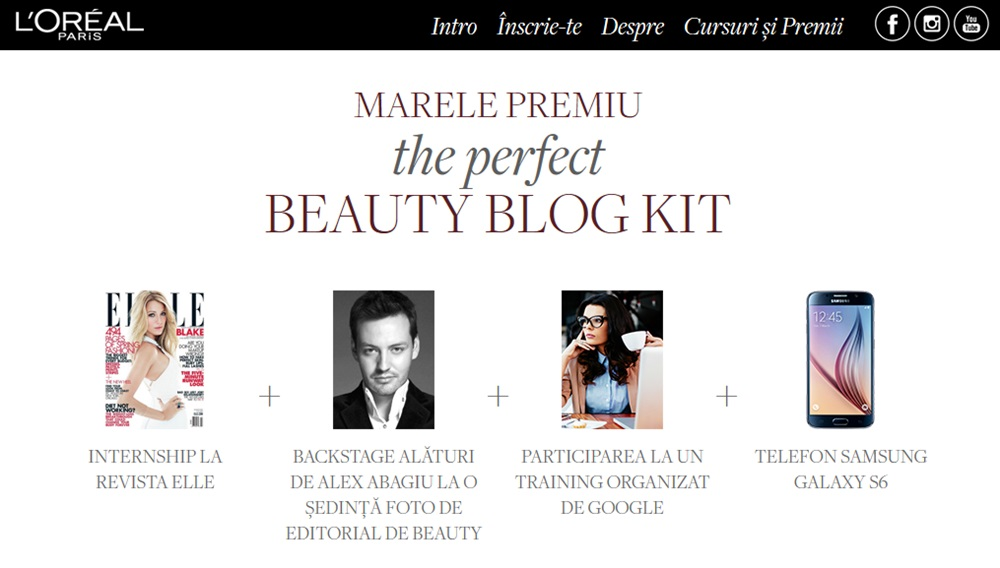 Scoala De Beauty Blogging L'Oreal Paris