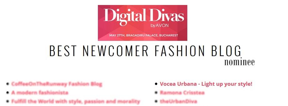 Best Newcomer Fashion Blog la Digital Divas?