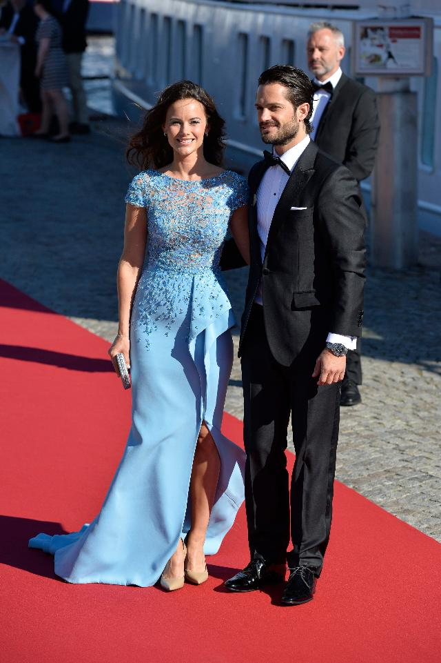 sofia carl philip red carpet