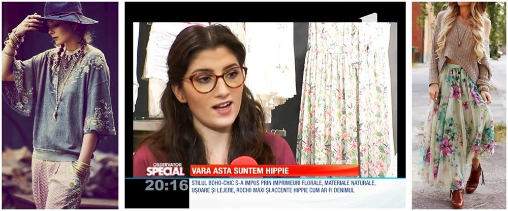 Reportaj la Antena 1 cu Mariana Romanica: Stilul BOHO-CHIC