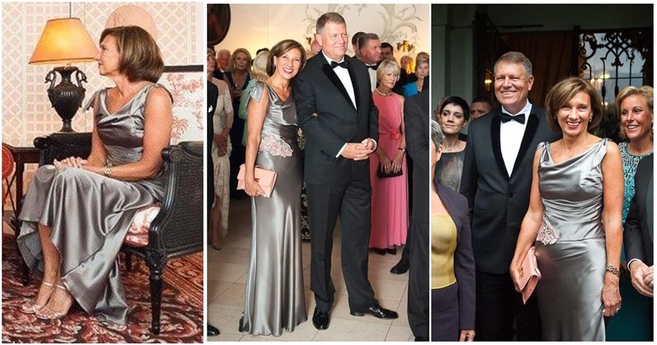 Despre Carmen Iohannis şi haosul cu rochia argintie
