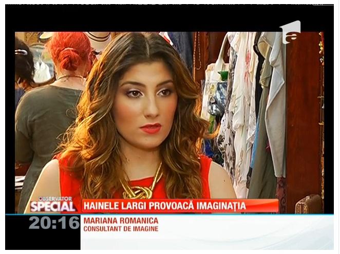 Reportaj Antena 1 cu Mariana Romanica: Haine largi pe timp de vara