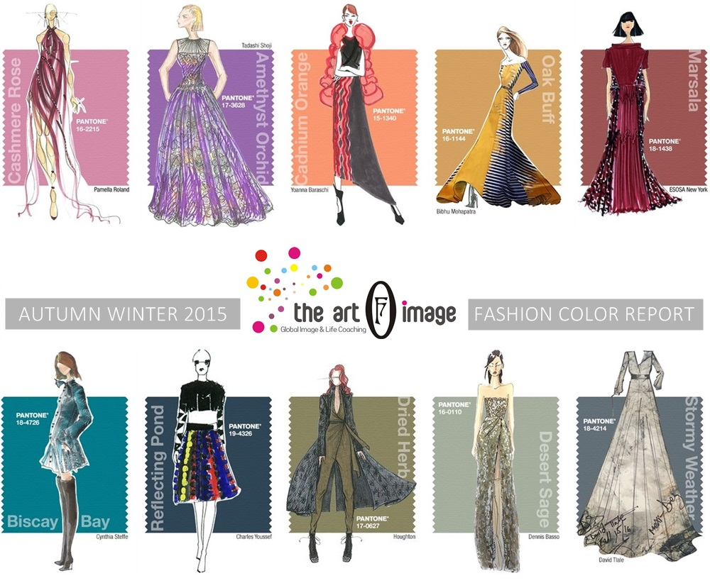 autumn winter 2015 FASHION color report