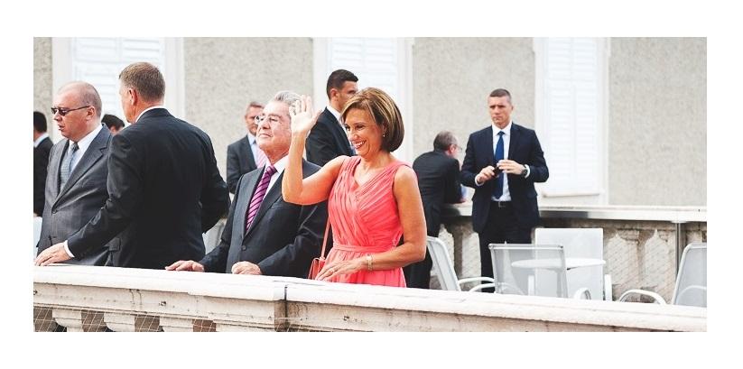 Carmen Iohannis şi cealaltă rochie de la Salzburg