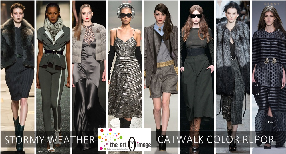 stormy weather catwalk color report aw 2015