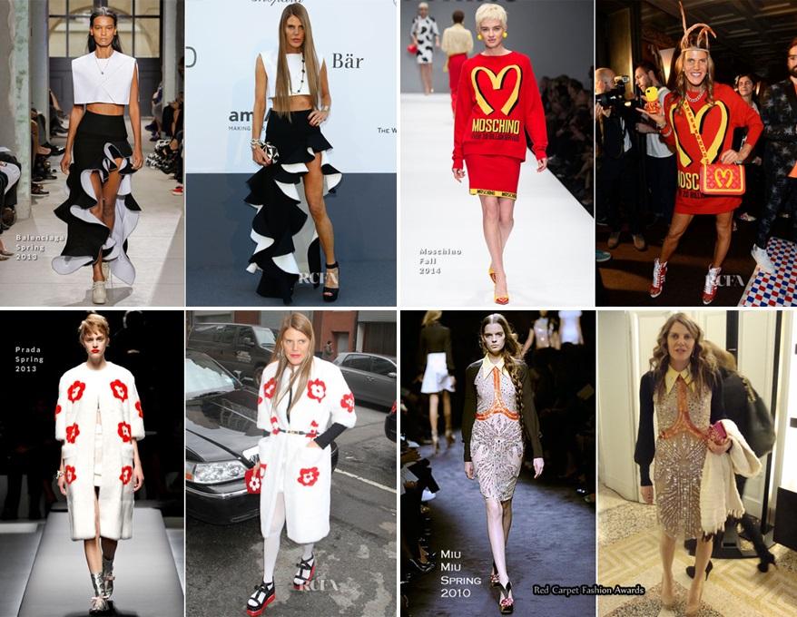 Anna-Dello-Russo-catwalk outfit