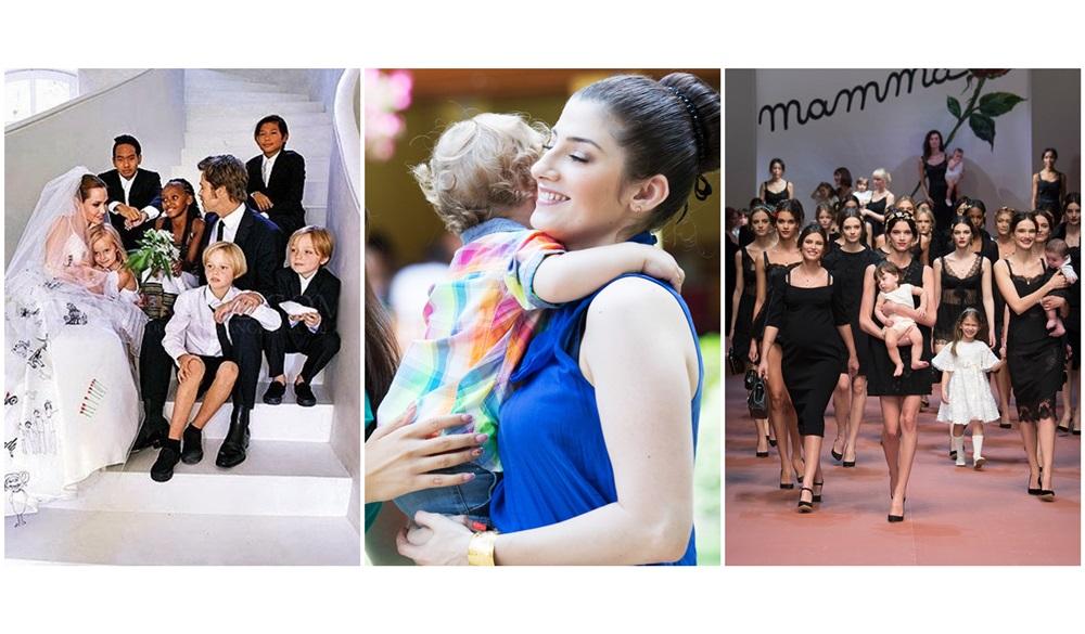 Legatura dintre David, colectia Dolce & Gabbana toamna – iarna 2015 si nunta Angelinei Jolie
