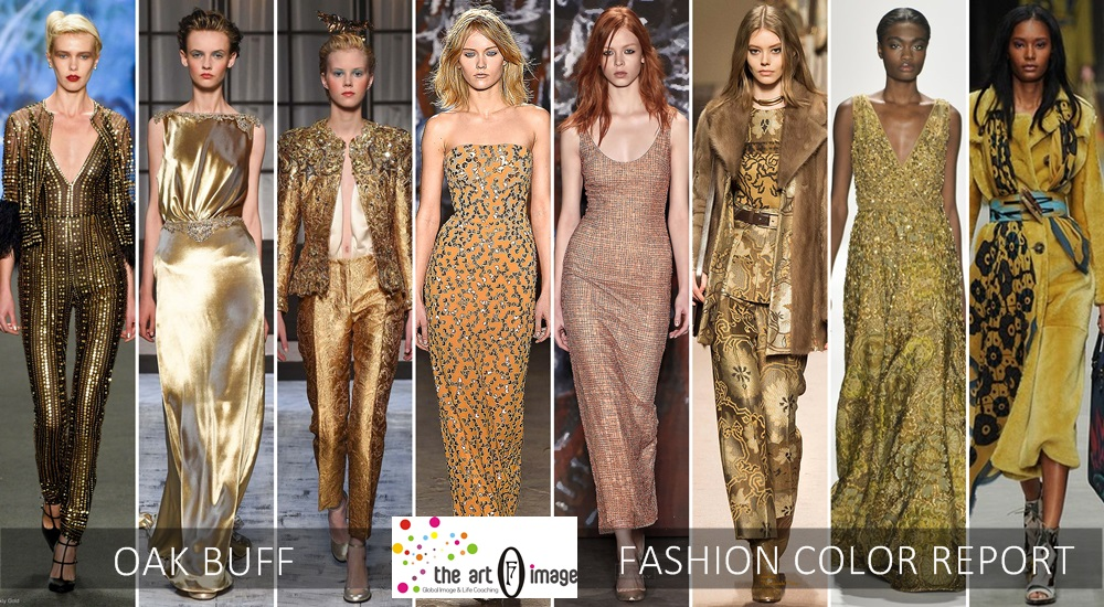 oak buff catwalk color report aw 2015