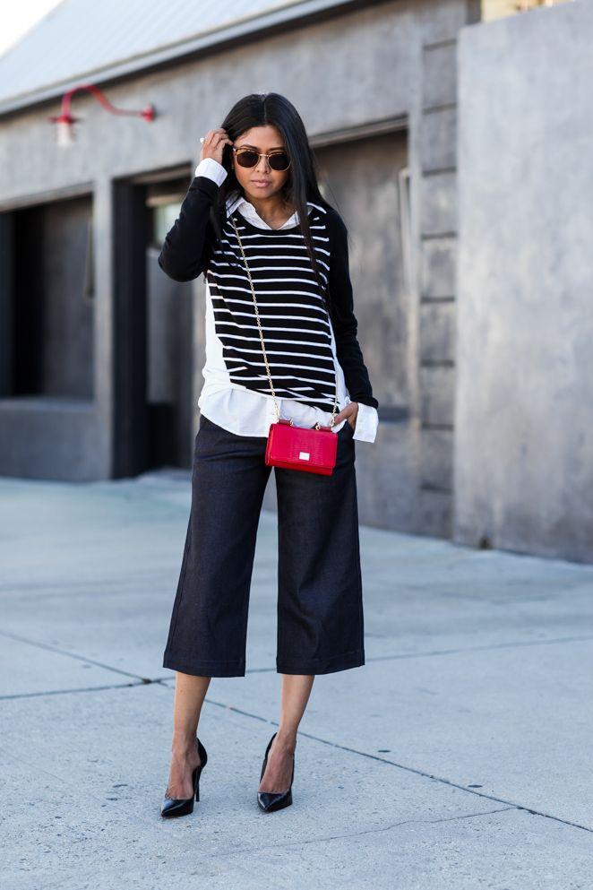 culottes stiletto