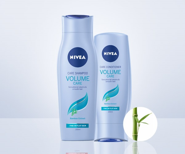 NIVEA new Volume Care