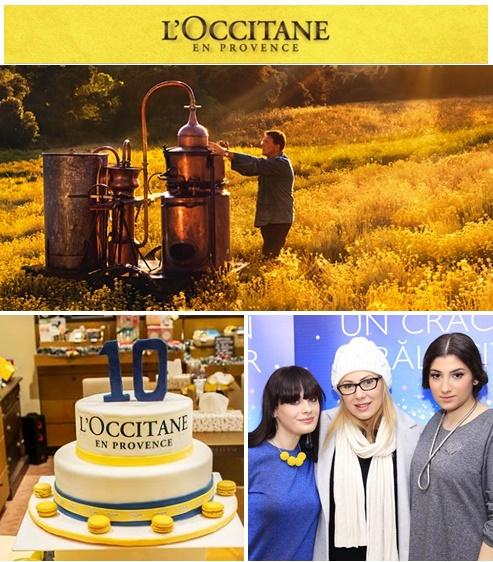 l'occitane 10 ani romania