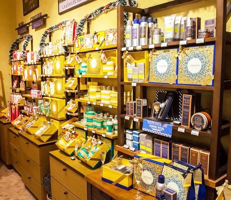 l'occitane display produse