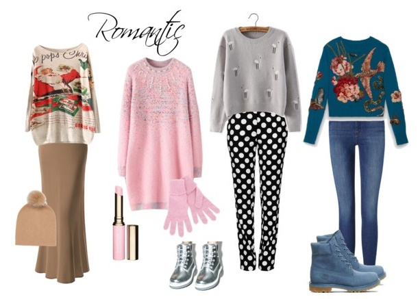 outfit Romantic pulover