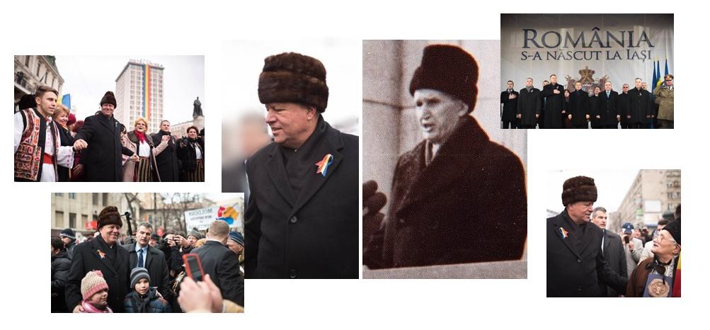 Cât de mult contează cum s-a îmbrăcat Klaus Iohannis la Iaşi