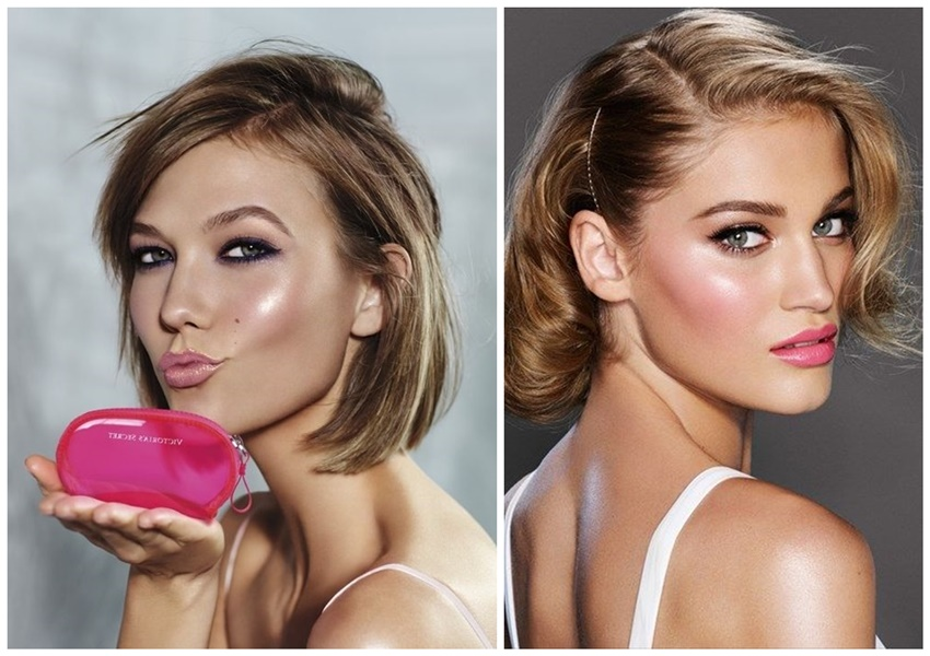 rose quartz strobing makeup blush