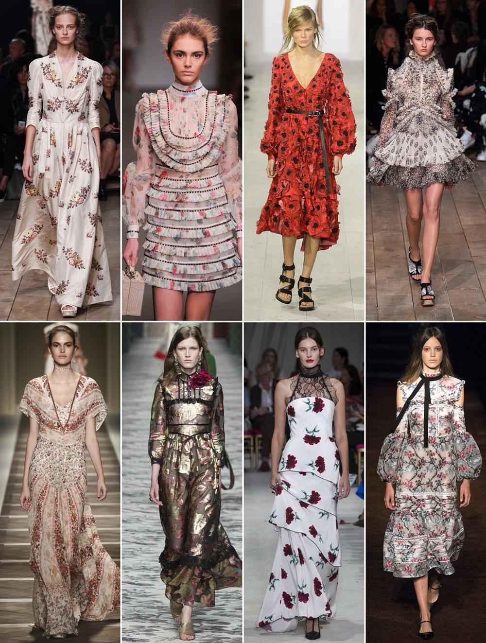 romantic tendinte moda primavara vara 2016