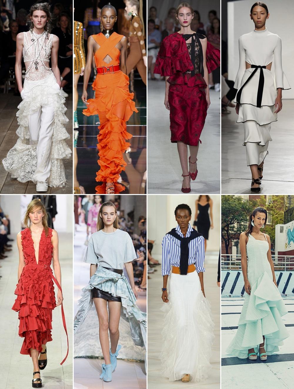 volane tendinte moda primavara vara 2016