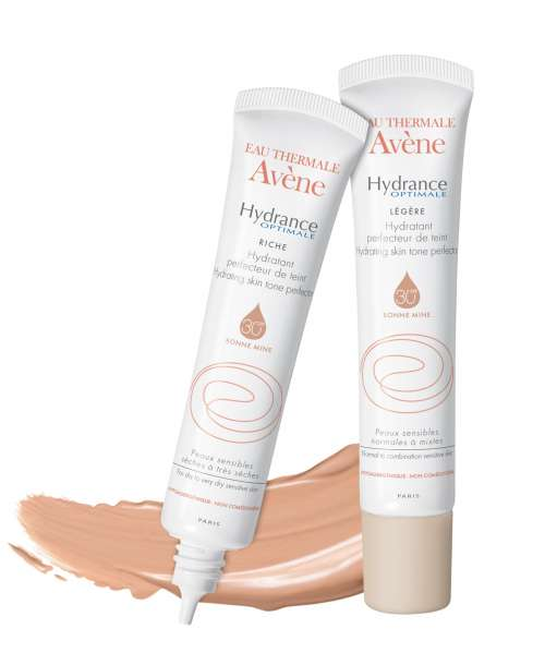 Avene Hydrance Optymale – summer no make-up look