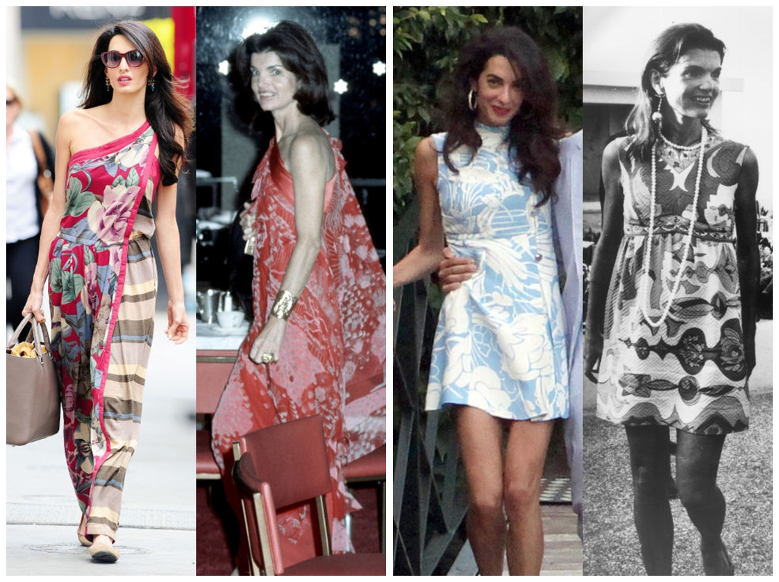 amal clooney jackie kennedy style