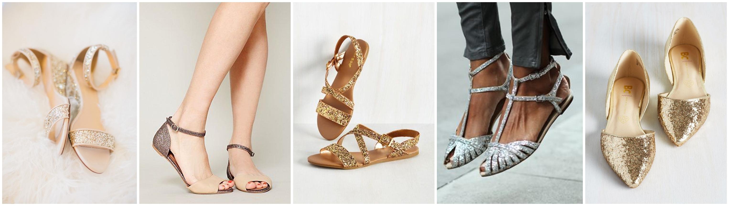 sandale sclipici