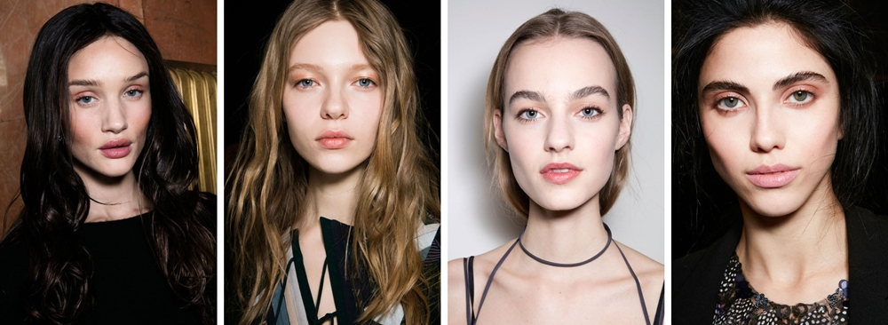 make-up trend toamna 2016 bare face