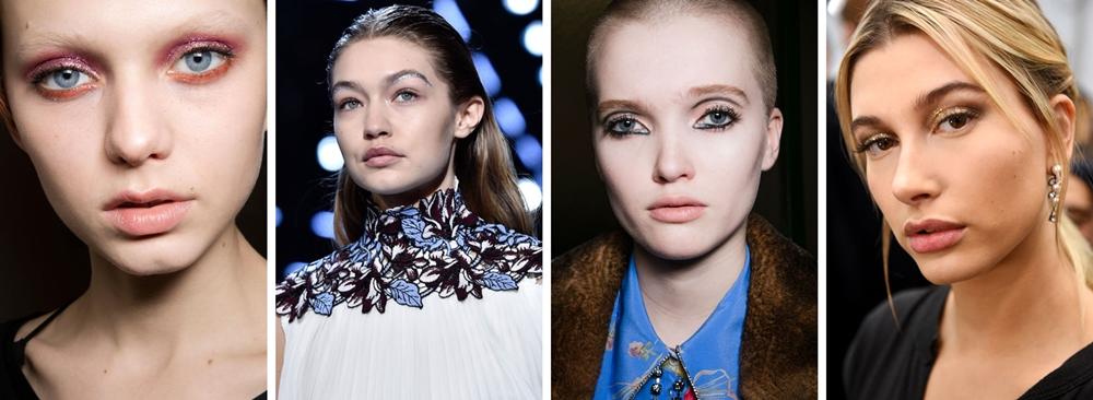 make-up trend toamna 2016 glitter