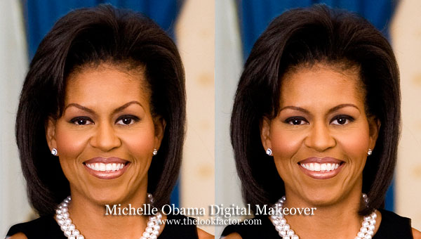 michelle-obama-eyebrows-before-after-digital-makeover