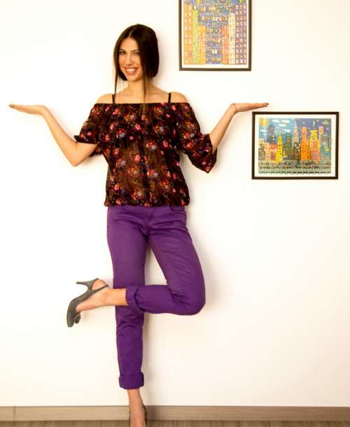 BEFORE and AFTER: Schimbare de Stil pentru Cristina