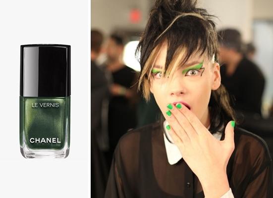 greenery nails