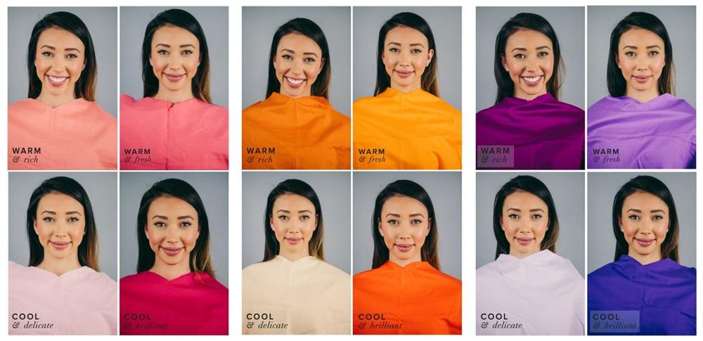 culorile potrivite